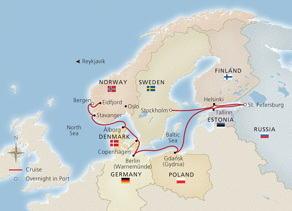 Viking Homelands Baltic Cruise 2018